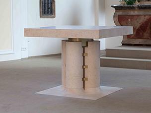 Altarraumgestaltung Ansicht Altar