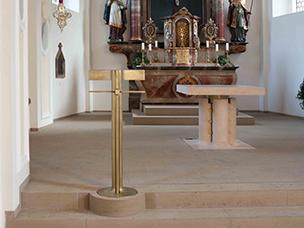 Altarraumgestaltung Gesamtansicht