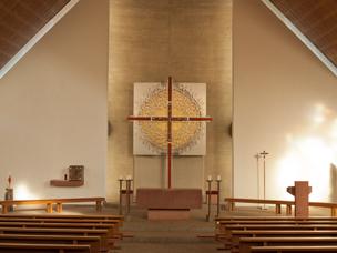 Altarrückwand Gesamtansicht